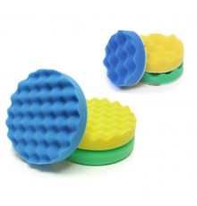 3M compounding & polishing machine pads set (75 & 150 mm)