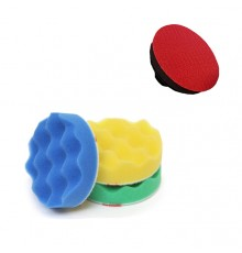 3M compounding & polishing machine pads set (75 mm)