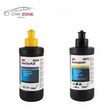 3M Extra Fine Plus + Fine Compound (2x 250 gr)