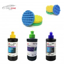 3M Ultrafina SE + Extra Fine Plus + Fast Cut Plus ( 3 x 250 gr)