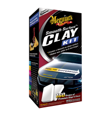 Meguiar's Smooth Surface Clay Kit (473ml, 2x80g)
